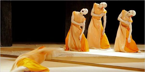 Butoh dance performance