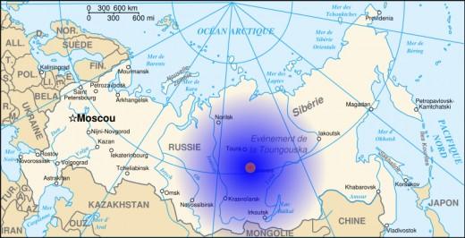 tungunska-map